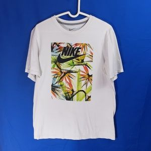 Nike Print Men's Tee Shirt Regular Fit Size L